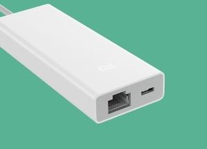 Image 3 - Xiao mi orijinal mi USB3.0 Gigabit Ethernet çoklu adaptör USB RJ45 ağ kablosu arabirim yüksek hızlı USB Splitter dizüstü