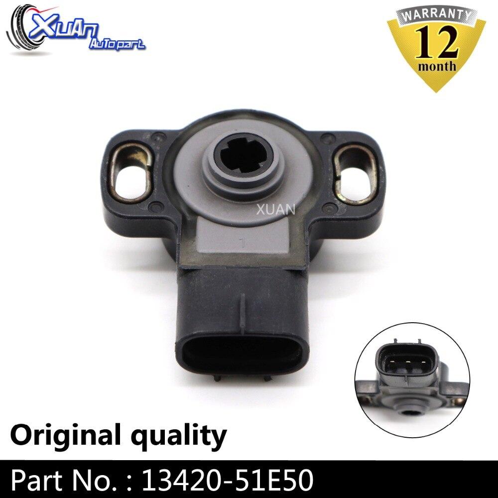 XUAN THROTTLE POSITION SENSOR TPS SENSOR 13420 51E50 1342051E50 For Suzuki Car accessories Auto parts