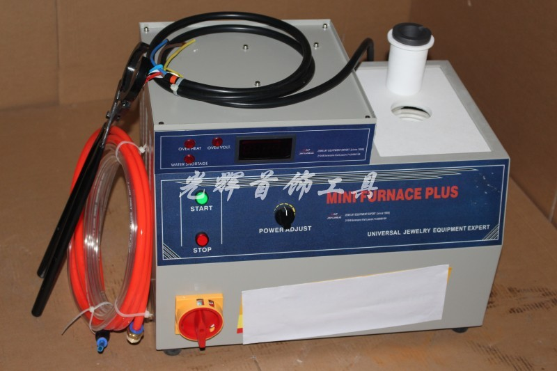 Mini machine de fusion pour l'aluminium de cuivre de laiton d'argent d'or