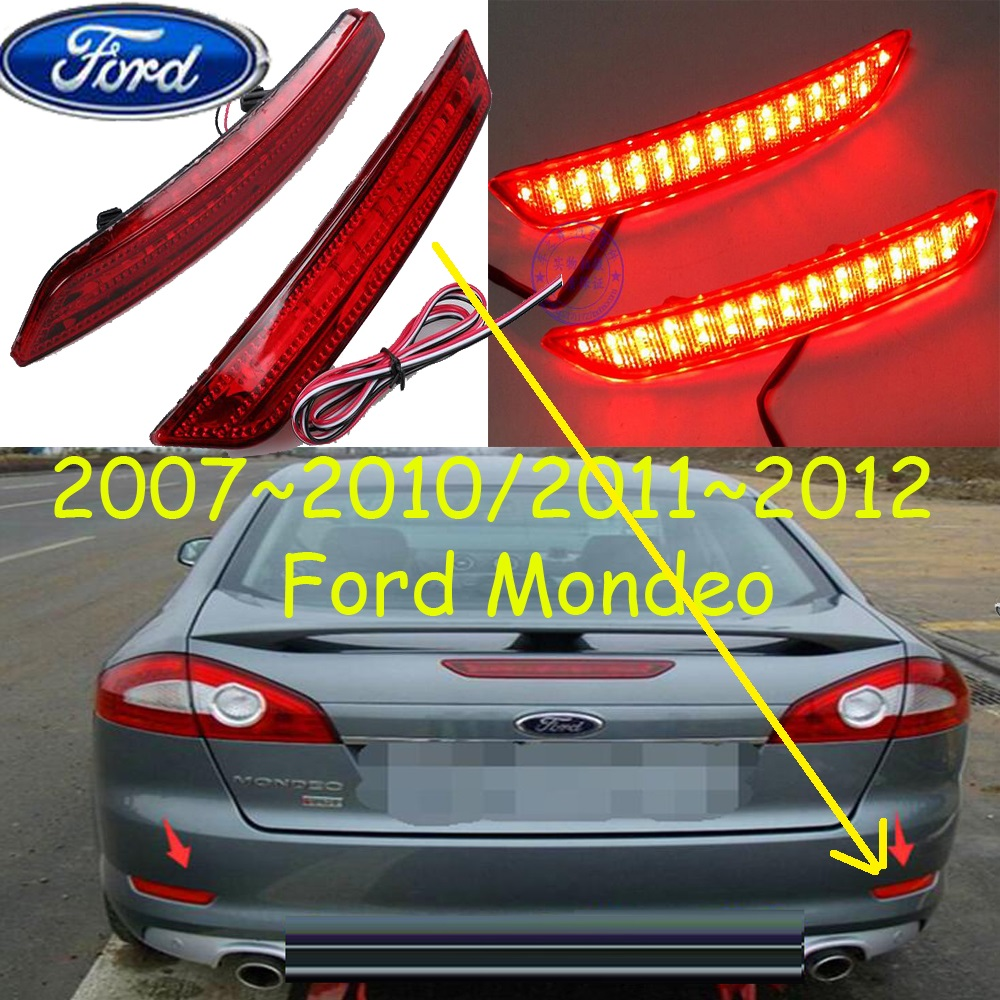 Monde breaking light,2007~2012,Free ship!LED,Monde rear light,LED,2pcs/set,Monde taillight;Kuga,Ecosport