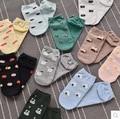 Новая Мода Корейских Женщин Каваи Питания Трубки Носки Прекрасный Суши Горячей собака Яйца Искусства Короткие Носок Дамы Новинка Чистого Хлопка Носки