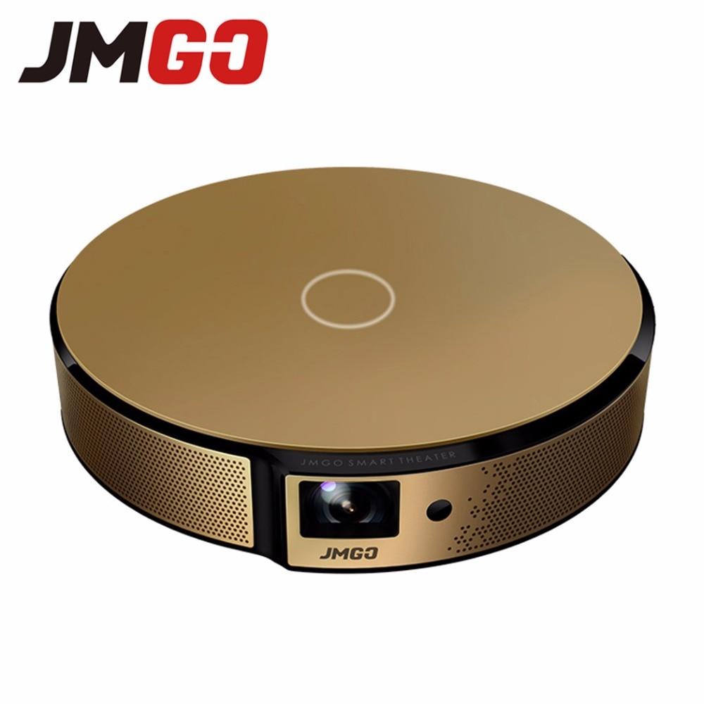 JMGO E8, HD проектор, 750 ANSI люмен Смарт проектор, Встроенный Android, WI-FI, Bluetooth Динамик. HDMI, USB, Поддержка 1080 P светодиодный ТВ