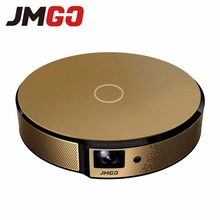 JMGO E8, Proyector de ALTA DEFINICIÓN, 750 Lúmenes ANSI Proyector Inteligente, construido en Android, WIFI, Altavoz Bluetooth. HDMI, USB, apoyo 1080 P LED TV