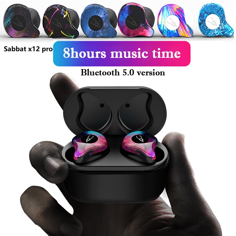 Nasin TWS X12 Mini Wireless Earphones 5 0 Bluetooth Headset Sports Stereo Headset Handsfree Waterproof for