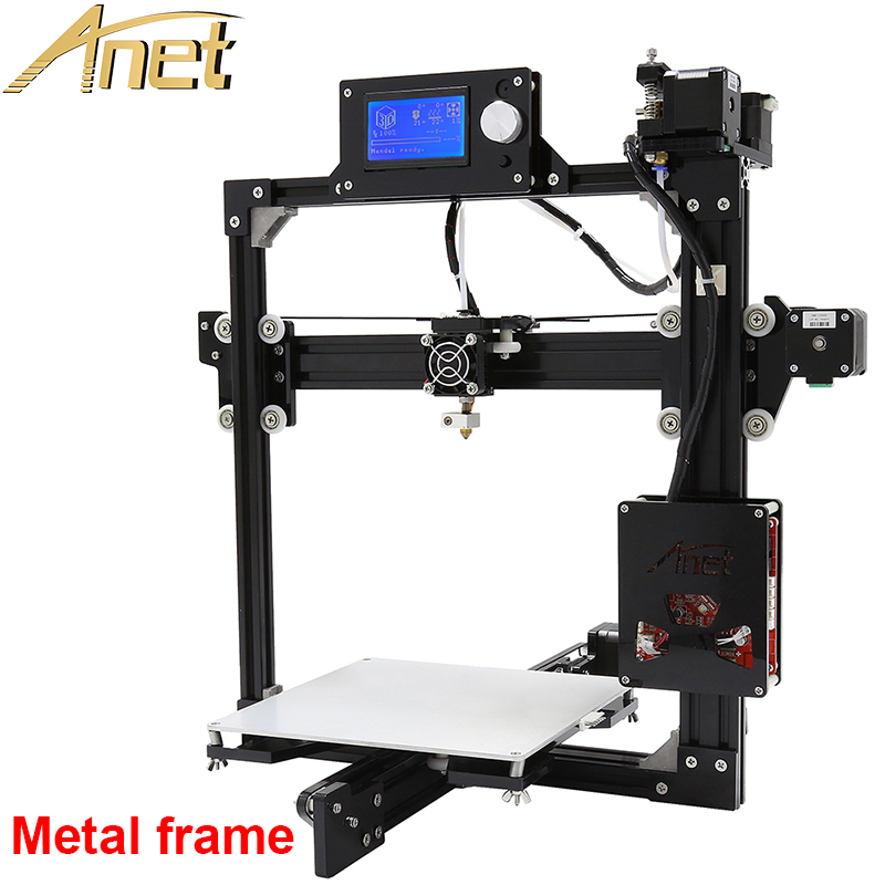 Large Printing Size auto leveling 3d metal printer 3D Printer Kit DIY Easy Assemble With Free 10m Filaments 8GB SD card LCD футболка incity incity in002ewwkk12