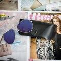 Diseño Caliente de la manera Mujeres de Los Hombres gafas de Sol Polarizadas con la caja de Vidrios Conductor Gafas de Sol de Moda gafas gafas de sol masculino