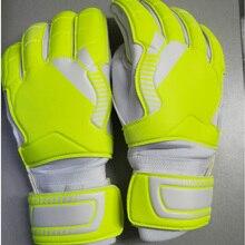Лидер продаж, мужские футбольные вратарские перчатки для футбола, латексные вратарские перчатки для защиты пальцев, вратарские перчатки luvas de goleiro