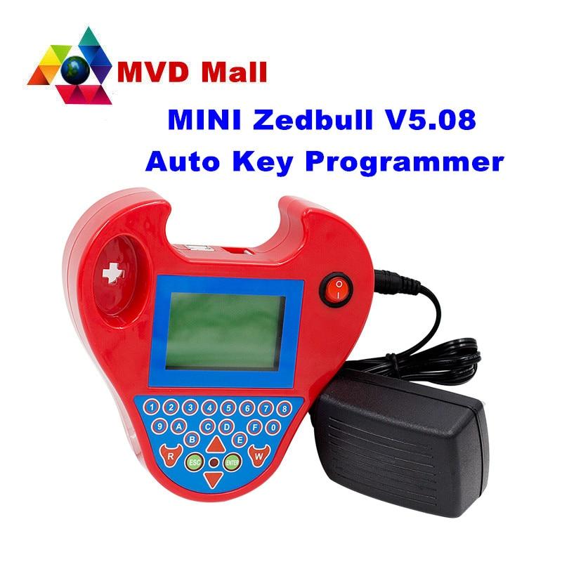 Prix pour Professionnel Mini ZedBull V508 Programmeur principal Automatique De Voiture Transpondeur Zed Bull OBDII Clone Machine Non Jetons Limitation!!!