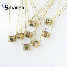 5Pieces, The Rainbow Series, Women Fashion Circle Shape Necklace and Pendant,Gold Color,Can Wholesale