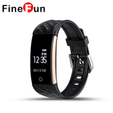 Finefun S2 SmartBand браслет Фитнес трекер Браслет сердечного ритма Мониторы Шагомер сна Bluetooth 4.0 IP67 fit бит Smart Band