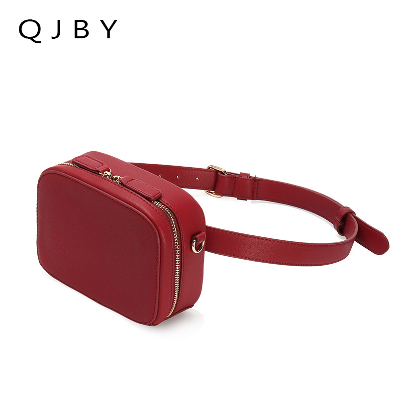 Belt Bag Waist Packs 2018 Hight Quality Fanny Pack Women Luxury Brand PU Leather Lady Chest Handbag Shoulder Purse For Woman belt bag women waist bag white waist fanny pack luxury brand leather chest handbag lady s belt bags 2018 shoulder bags purse
