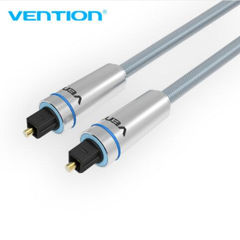 VEnTIOn Digital Optical audio cable Toslink gold plated 1m SPDIF coaxial cable for Blu-ray CD DVD player Xbox 360 PS3 AV