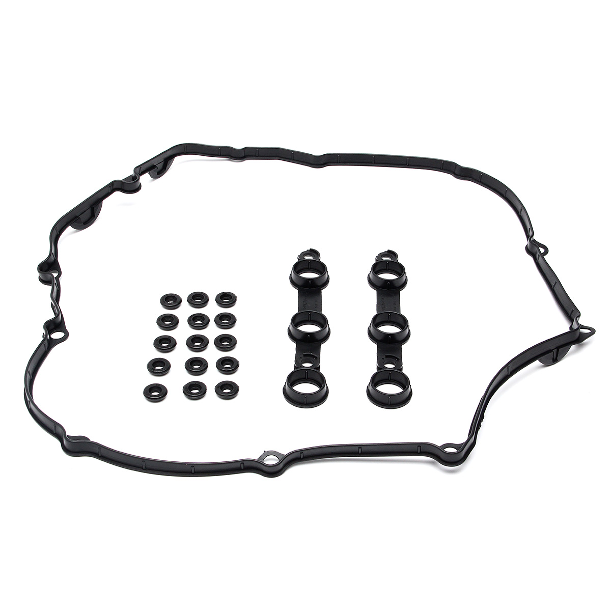 Engine Valve Cover Gasket Set 15 Valve Cover Washer For