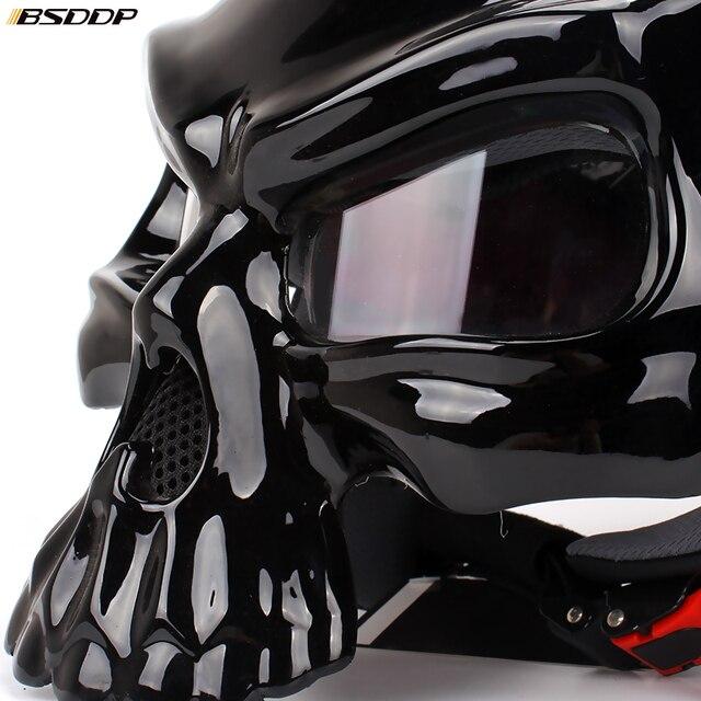 Skull Biker Helmet 4