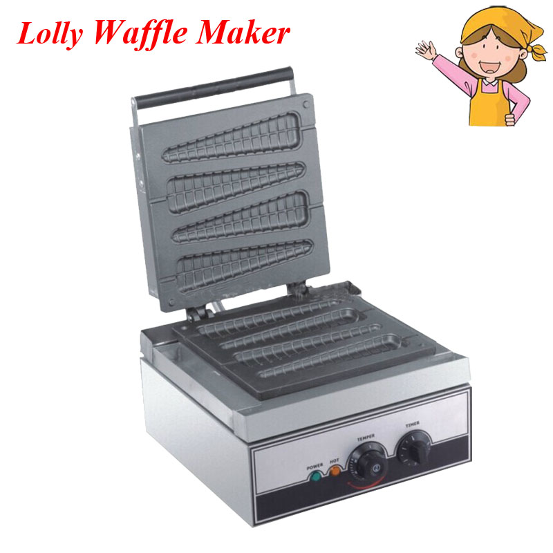 1pc 2016 Hot Sale Waffle Maker 220/110V Electric Lolly Waffle Maker Muffin Baker French Waffle EB-Q9
