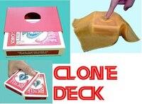 Clone Deck-2014 nova magia convés, truques de mágica, cartão de mágica, ilusões, truques baralho novidades