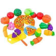 Гарнитур растительные развития фруктов раннего образования кухонный резки кухня игрушка шт./компл.