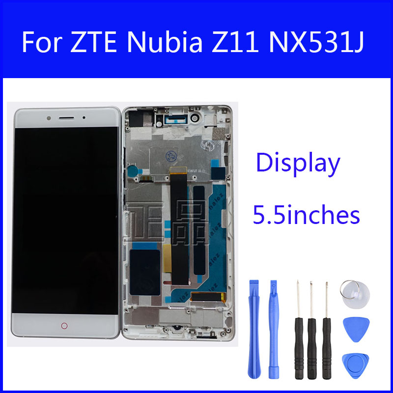For ZTE Nubia Z11 NX531J Full LCD Display Touch Panel ...