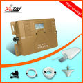 ¡ VENTA CALIENTE! DOBLE BANDA de 2G, 3G,! 850/2100 mhz amplificador de señal móvil, 2g 3g celular amplificador de señal del repetidor del amplificador con todos los accesorios kit