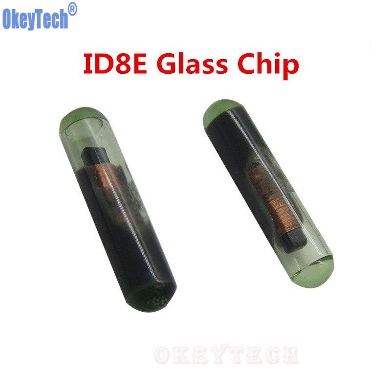 Okeytech Высокое качество Авто чипа 8E Стекло чип для Honda ID8E Ключи чипа оптовая продажа бесплатная доставка