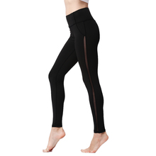 High Waist Push Up Mesh Leggings