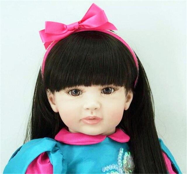 Vinyl Reborn Baby Doll Toys Girls