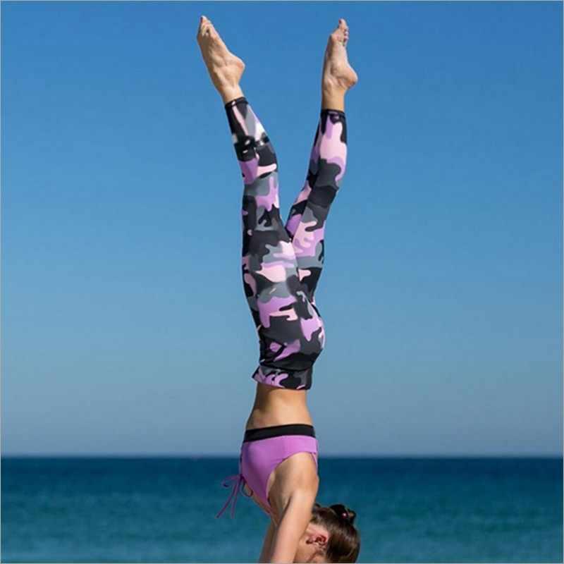 Imprimir Leggings Esportivos Para As Mulheres Roupas de Cintura Alta Calças de Treino de Fitness Activewear Feminino Leggings Jeggings Quick Dry 3067