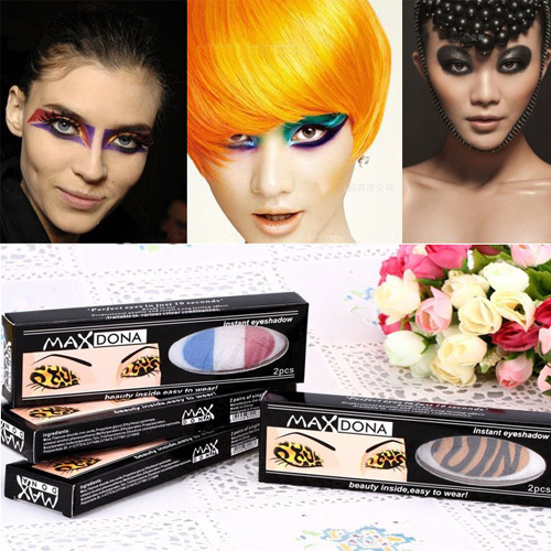 10pairs Instant Party Eyeshadow Sticker Eye Magic Sheets Makeup Cosmetic Tools Free Shipping