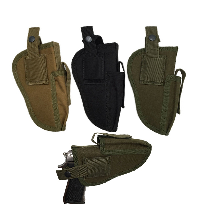 Left or Right Hand Interchangeable Tactical Pistol Hand Gun Holster fits for Glock 17 Beretta and most pistol