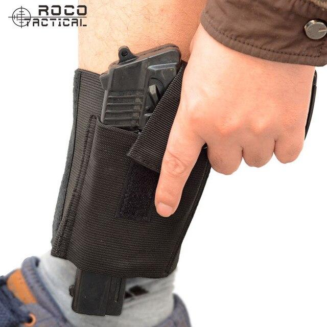 Tactical Adjustable Concealed Ankle Pistol Holster Ankle Gun Holster