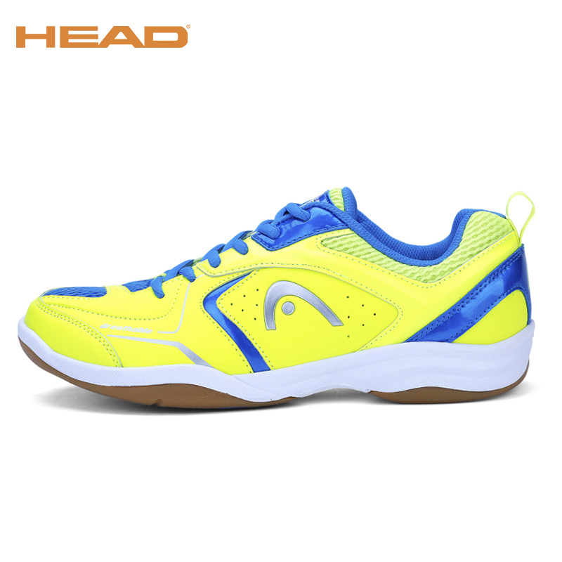 HEAD Professional Badminton Sport Shoes For Men Brand Tennis Shoes Shock-Absorbant Training Sneakers Badminton Shoes For Man top quality men s badminton shoes breathable sport shoes brand sneakers table tennis shoes badminton shoes for men size 35 44