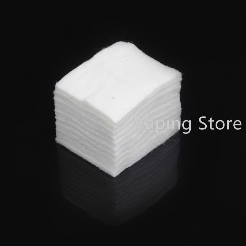 10 Pz/pacco Di QualitÀ Di Hight Migliore Vape Cotone Giapponese Di Cotone Biologico Per Rda Serbatoi I Clienti Prima Di Tutto