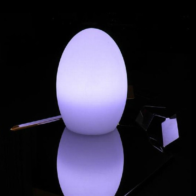Table lamp egg shaped lamp bar counter glass mousse led bar counter table lamp egg shaped lamp bar counter glass mousse led bar counter lamp remoter change colors aloadofball Image collections