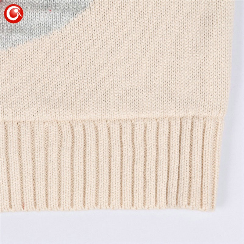 1-5y 2016 AutumnWinter Fashion Toddler Kids Girls Deer Sweater Long Sleeve Crochet Knitted Top For Christmas Kids Boys Cardigan (3)