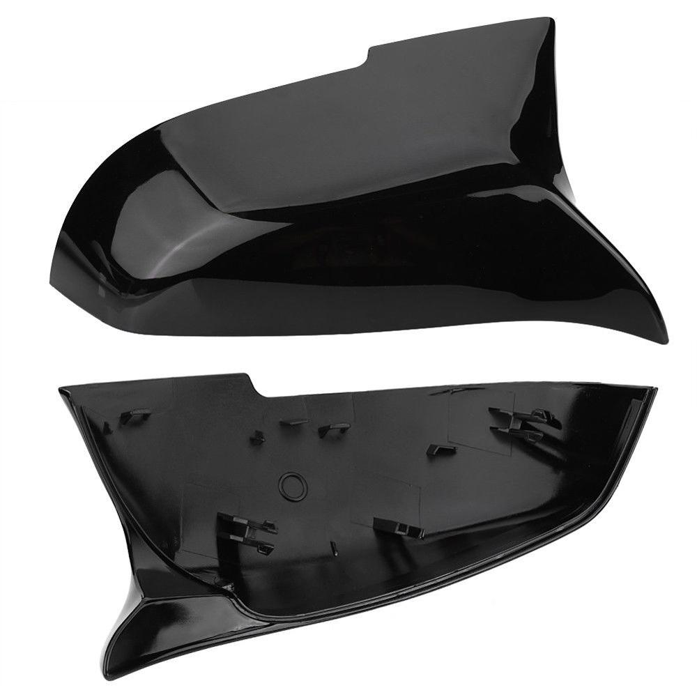 Glossy Black Mirror Cover For BMW F20 F21 F87 M2 F23 F30 F36 X1 E84 F87 320i 328i 330i 335i M4  Style-in Mirror & Covers from Automobiles & Motorcycles    3
