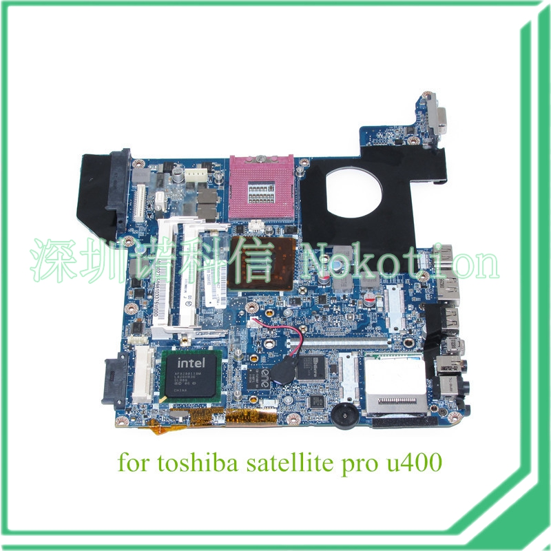 NOKOTION DATE1MMB8E0 REV E Laptop Mainboard For toshiba satellite U400 motherboard intel GL40 DDR2 A000027650 for toshiba satellite l745 l740 intel laptop motherboard a000093450 date5mb16a0 hm65 tested