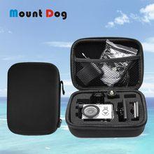 Gopro aksesuarları için toplama çantası çantası küçük boy saklama kutusu Gopro Hero8/7/6/5/4 SJCAM SJ4000 xiaomi YI 4K eylem kamera
