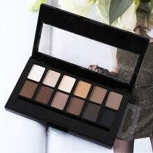 12 Colors Professional Makeup Palette Waterproof Anti-perspiration Eye Shadow Plate