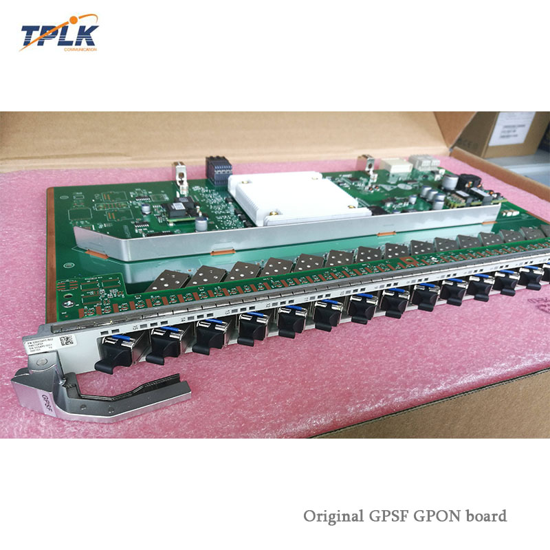 Fiber Optic Equipments Hua Wei Gpsf H901gpsf 03023ape 16-port Gpon Olt Interface Board For Huawei Ma5800-x7 Ma5800-x17 Huawei Olt With 16pcs B+modules Crazy Price Communication Equipments