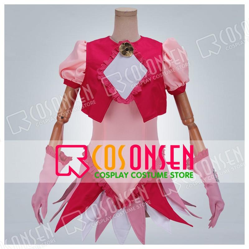 Anime Magical Doremi Harukaze Doremi Cosplay Costume COSPLAYONSEN Pink Dress Any Size