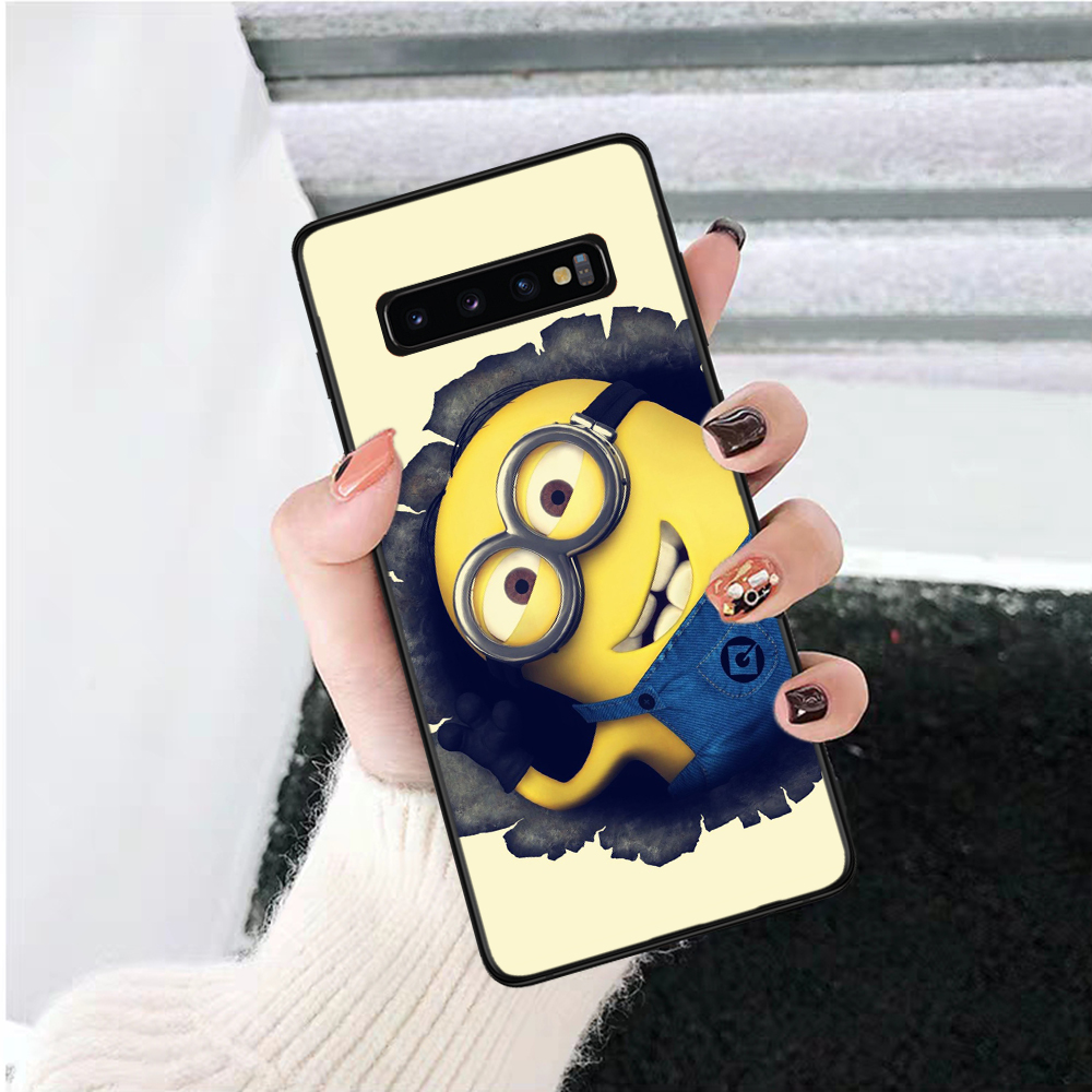 Lavaza Minions Minion My Unicorn Agnes Silicone Case for Samsung S6 Edge S7 S8 Plus S9 S10 S10e Note 8 9 10 M10 M20 M30 M40 in Half wrapped Cases from Cellphones Telecommunications