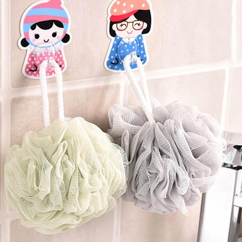 Loofah Bath Ball Mesh Sponge 1 PC Milk Shower Accessories Bathroom Supplies PE Bath Flower Soft 3