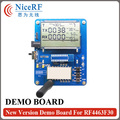 LCD Display Debug Demo Board for RF4463F30 Wireless Module