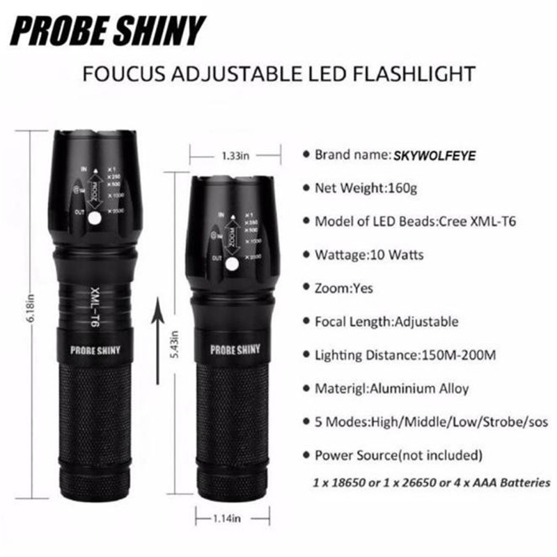 X800 Zoomable XML T6 LED 3000 lumens Waterproof Tactical EU PLUG 5Modes Headlight Flashlight Torch Lamp Set Kit Bicycle Light