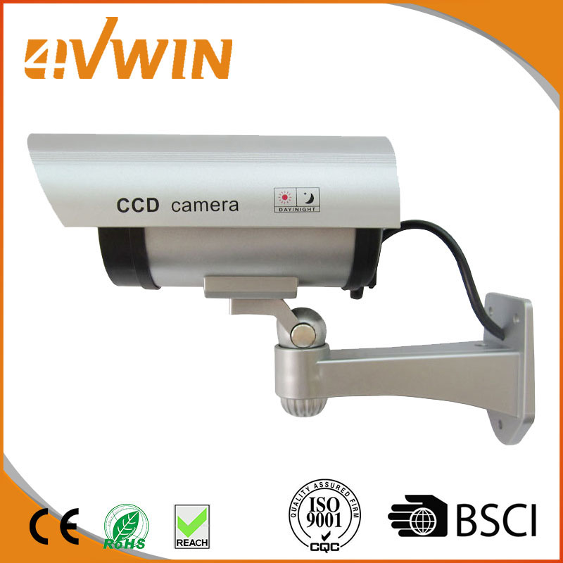 Dummy Camera Sliver Bullet Style Simulator Camera Deter Thieves Criminals For Home Security Protection bullet camera tube camera headset holder with varied size in diameter