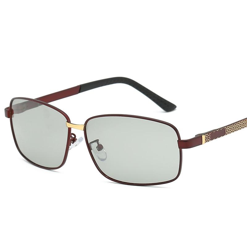 2019 TAC Polarized Photochromic Sunglasses Men Pilot