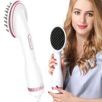 2 In 1 Multifunctional Hair Straightener Brush Comb With Negative Ion Hair Dryer Styler Lescolton Hair Detangling Dryer Brush