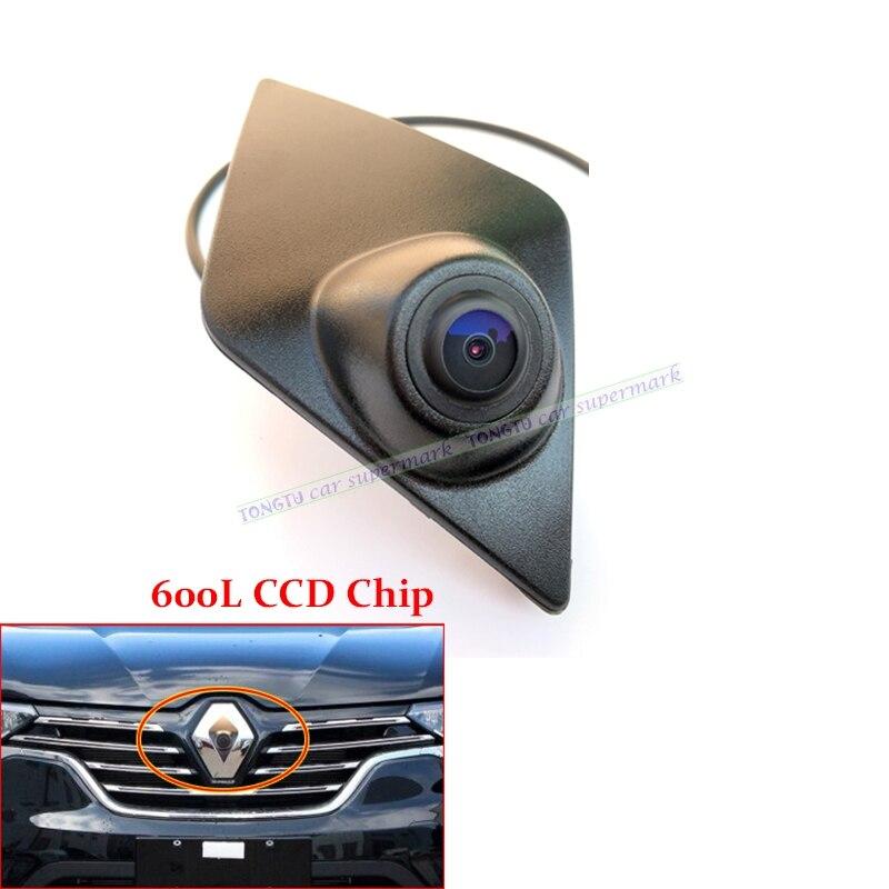 Noche visión 600L CCD coche frente emblema logotipo de la cámara para Renault Koleos/KADJAR 2016, 2017