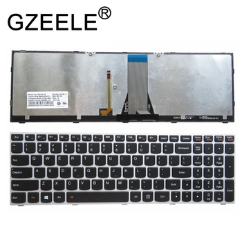 GZEELE 백라이트 실버 키보드 레노버 G50 Z50 B50-50 B50-30 G50-70A G50-70H G50-30 G50-45 G50-70 G50-70m Z70-80