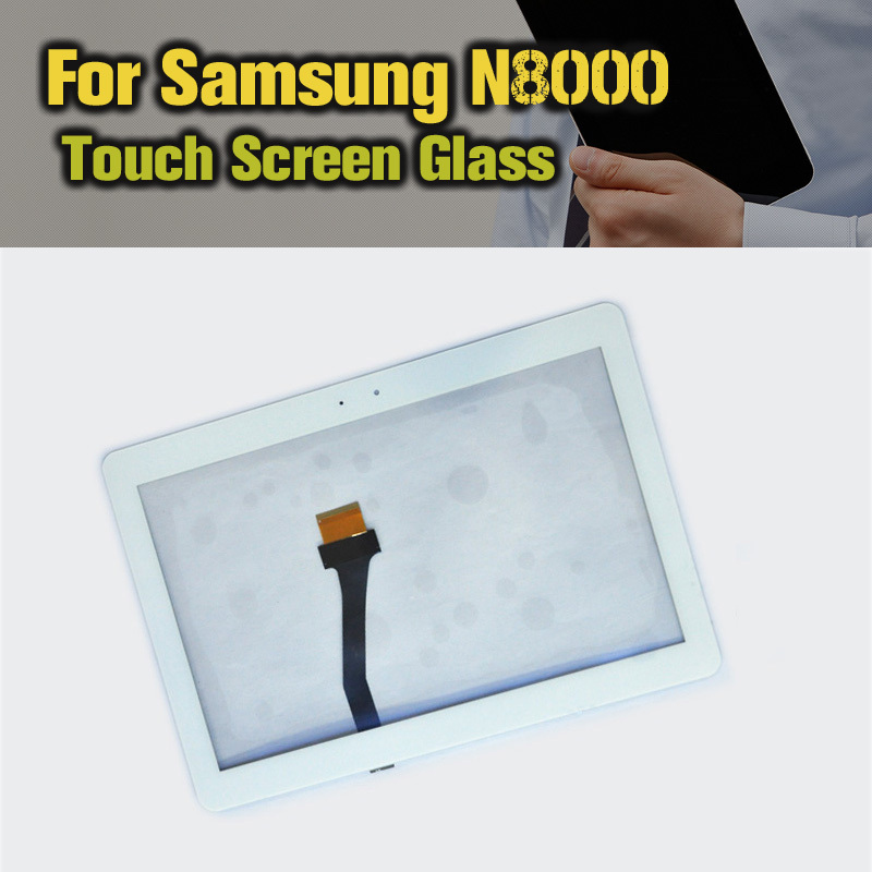 White Original Digitizer Touch Screen Glass parts FOR Samsung Galaxy Note 10.1 N8000 N8010 Replacement Free Shipping!!HOT!! виниловые обои sirpi muralto florian 30902